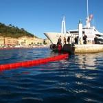 Barrage Barracuda anti-pollution port rivière - 1