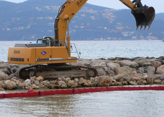 Barrage pour Travaux Maritime Antipollution BTM