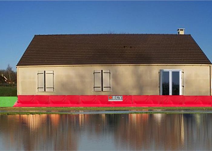 Barrière anti-inondation en bache Pare-O