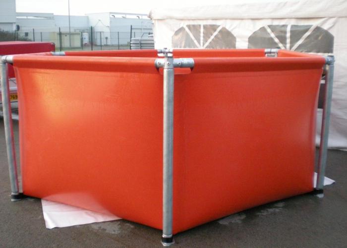 Bassin de r tention armature bac de r tention rcy for Bache pour bassin retention