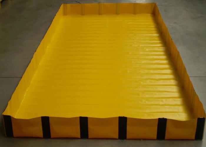 Bacs de r tention souples et ou pliables rcy for Bache pour bassin de retention