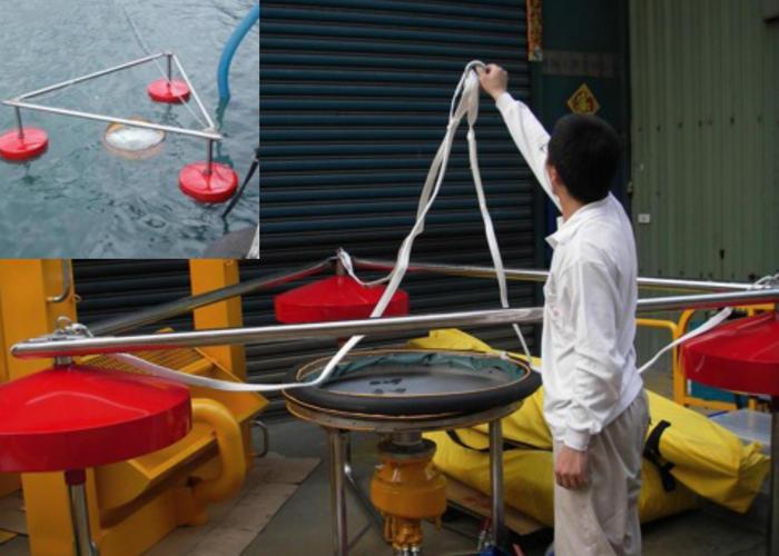 Ecremeur à seuil d'hydrocarbures