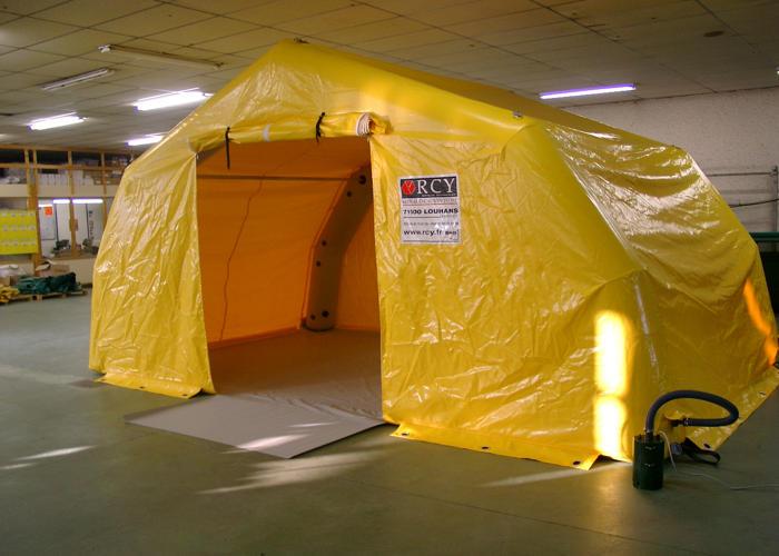 Tentes à Pannes Métalliques Gonflable