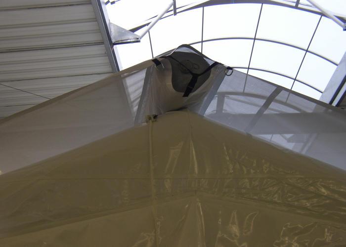 Pare soleil pour tentes gonflables