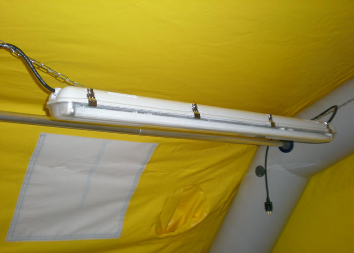 eclairage pour tentes gonflables