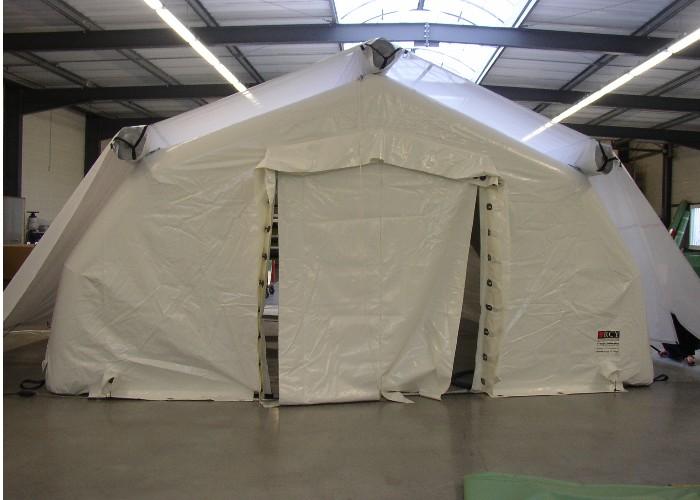 Pare soleil pour tentes gonflables 2