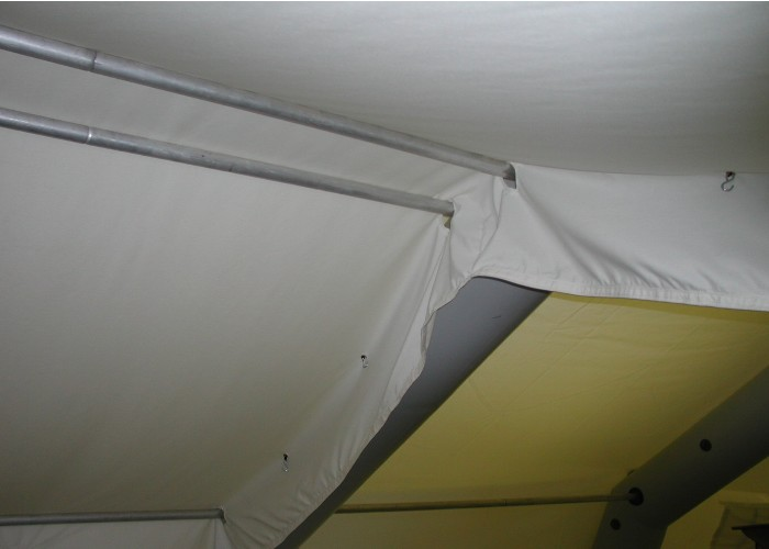 Velum pour tentes gonflables 1